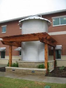 Texas Rainwater Collection as Architecture